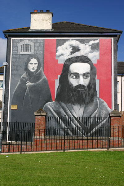 Derry Bed & Breakfast Bogside Murals 11