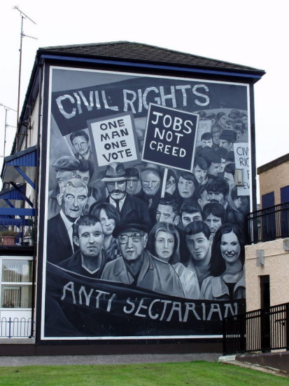 Derry Bed & Breakfast Bogside Murals 5