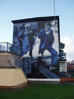 Derry Bed & Breakfast Bogside Murals 6
