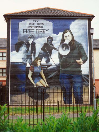 Derry Bed & Breakfast Bogside Murals 9