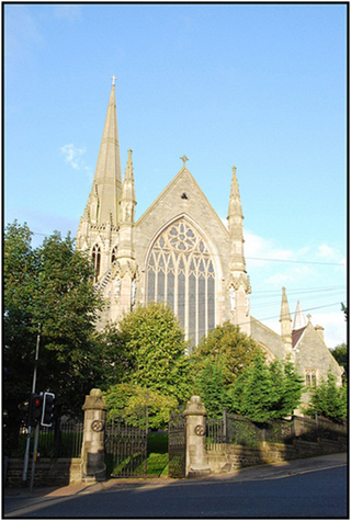 Derry Bed & Breakfast St Eugene's Cathedral 1