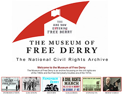 Derry Bed and Breakfast - Free Derry Museum 1