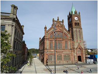 Derry Bed and Breakfast- Guildhall 8