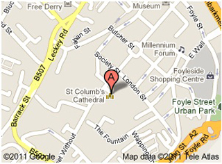 Derry Bed and Breakfast- St. Columb\'s Cathedral 2 | Bogside Bed and ...